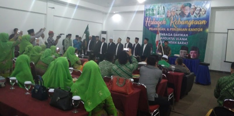 Perkuat Dakwah Aswaja, Pengurus LDNU Kalbar Baru Resmi di Lantik