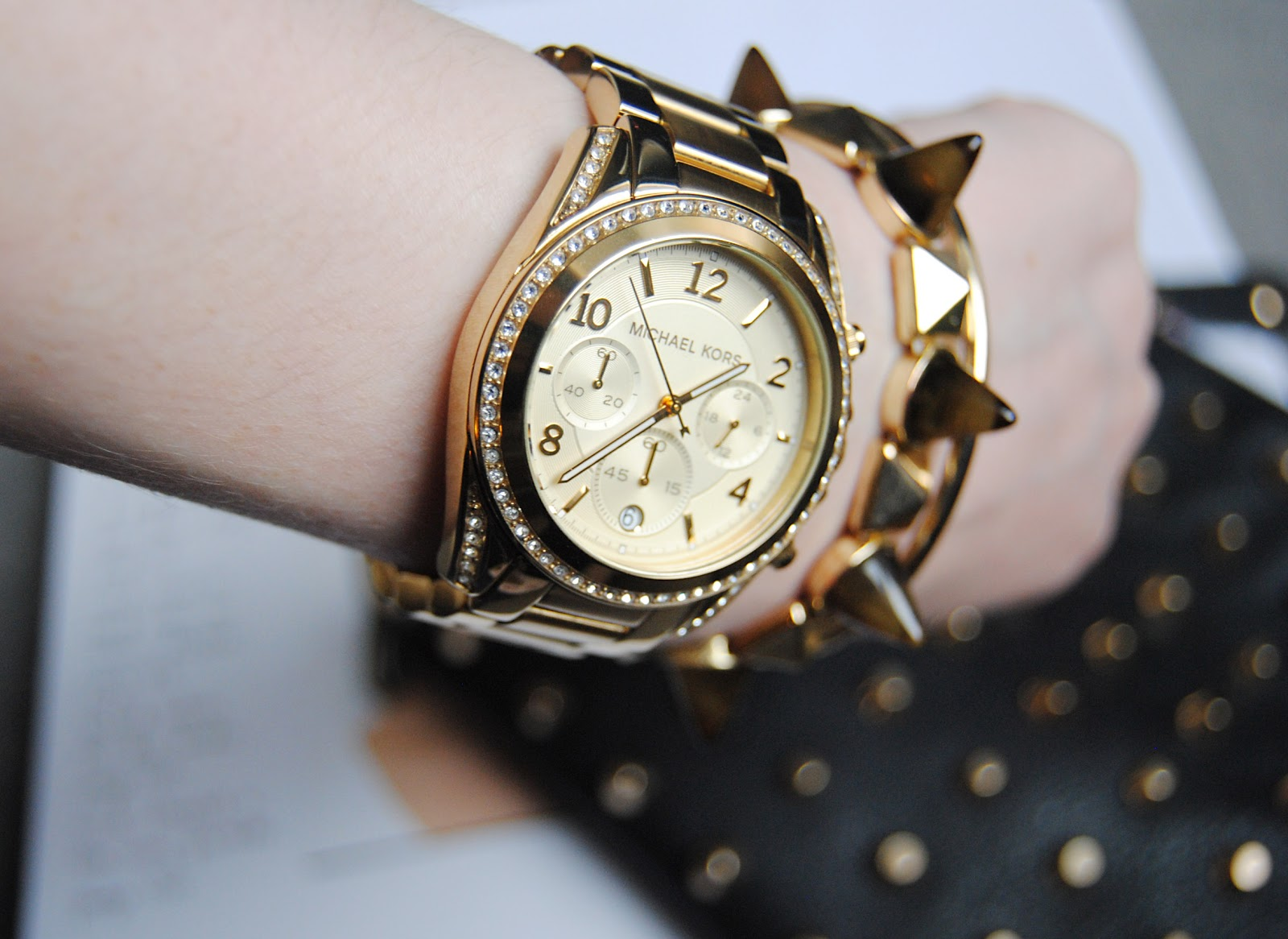 michael kors rose gold watch for women. Black Bedroom Furniture Sets. Home Design Ideas