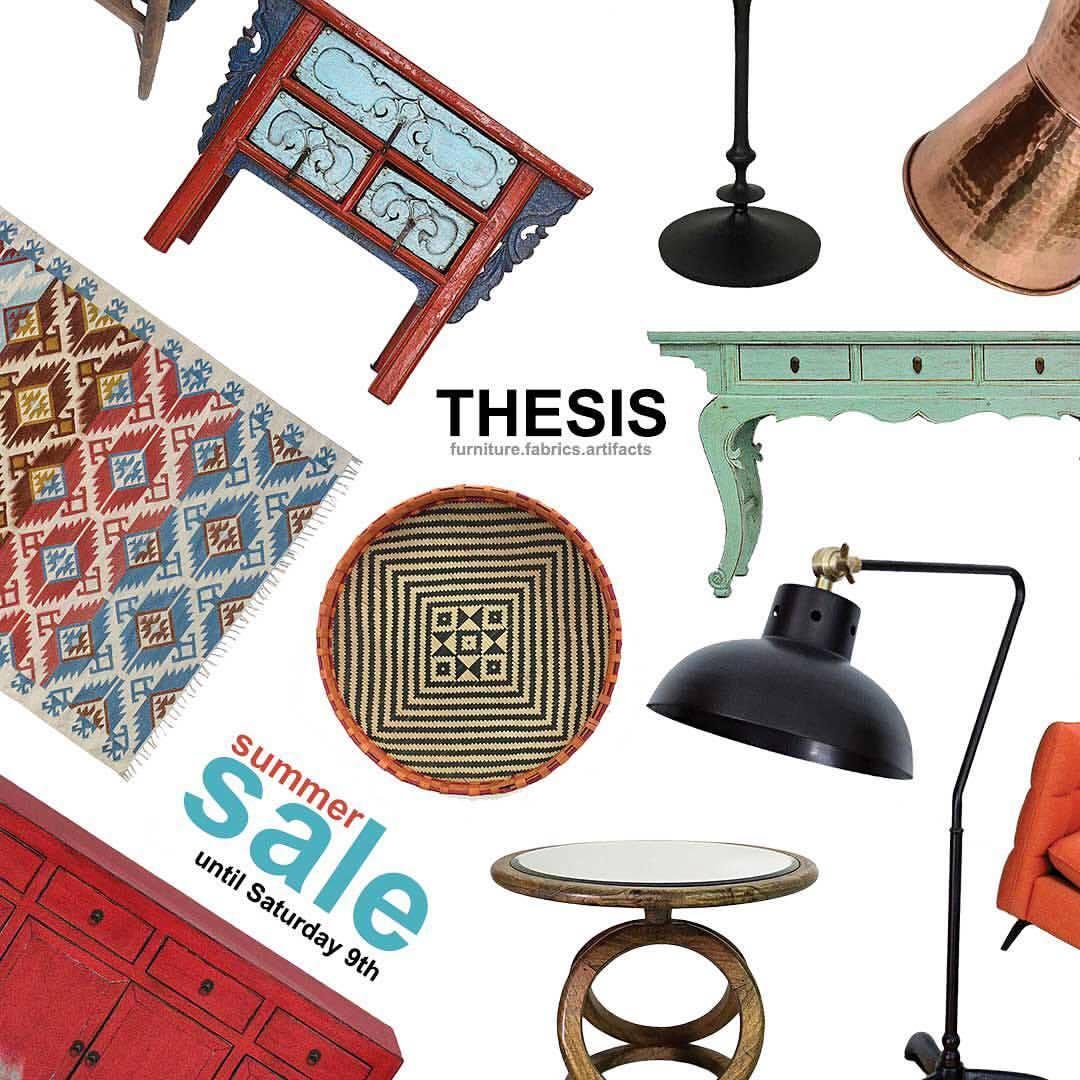 thesis furniture showrooms