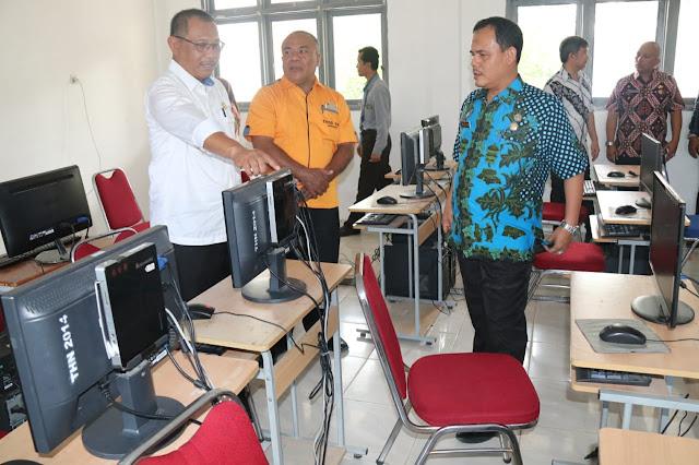 Wakil Wali Kota Tinjau Lokasi Ujian Penerimaan PPPK 2019