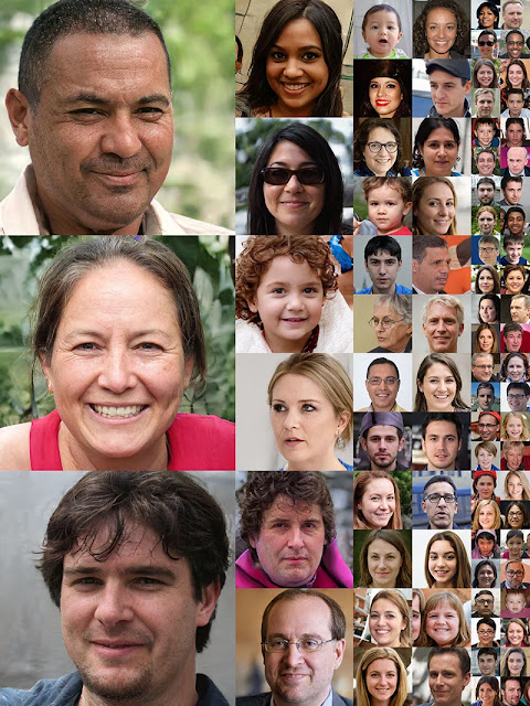 Ritratti realizzati da IA: nessuna di queste persone esiste realmente