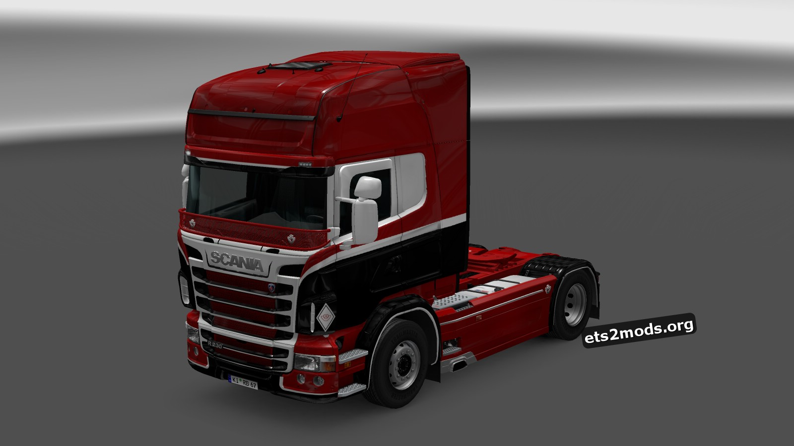 Red Beast Skin for Scania RJL by Catalin