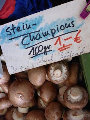 Stein-Champions 100 gr 1 Euro (Bioland)