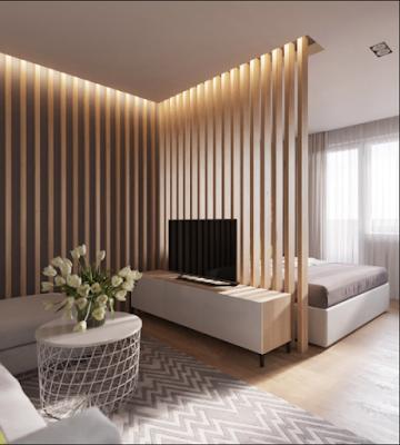 Inspirasi Desain Sekat Ruangan Unik Dan Kreatif 11