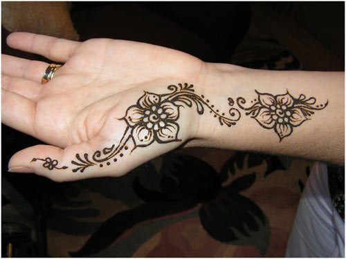 Latest Mehendi Designs For Left Hand