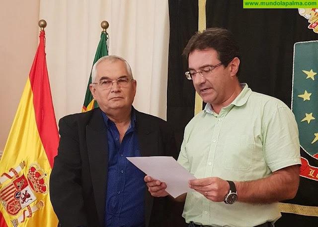 Francisco Miguel Pérez Lorenzo se incorpora como concejal al Ayuntamiento de Puntallana