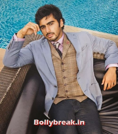 , Arjun Kapoor The Man Magazine Photoshoot Pics