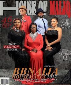 #BBNaija: Ex-Housemates Stun On The Cover House Of Maliq Magazine (Photos)
