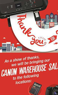 Canon Warehouse Sale Kota Bharu 2016