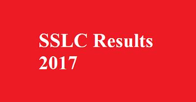 SSLC Result 2017