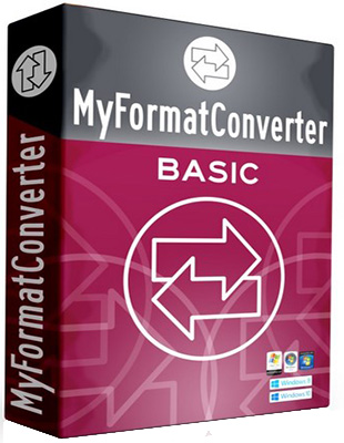 MyFormatConverter Basic 10.0.6109.25379 poster box cover