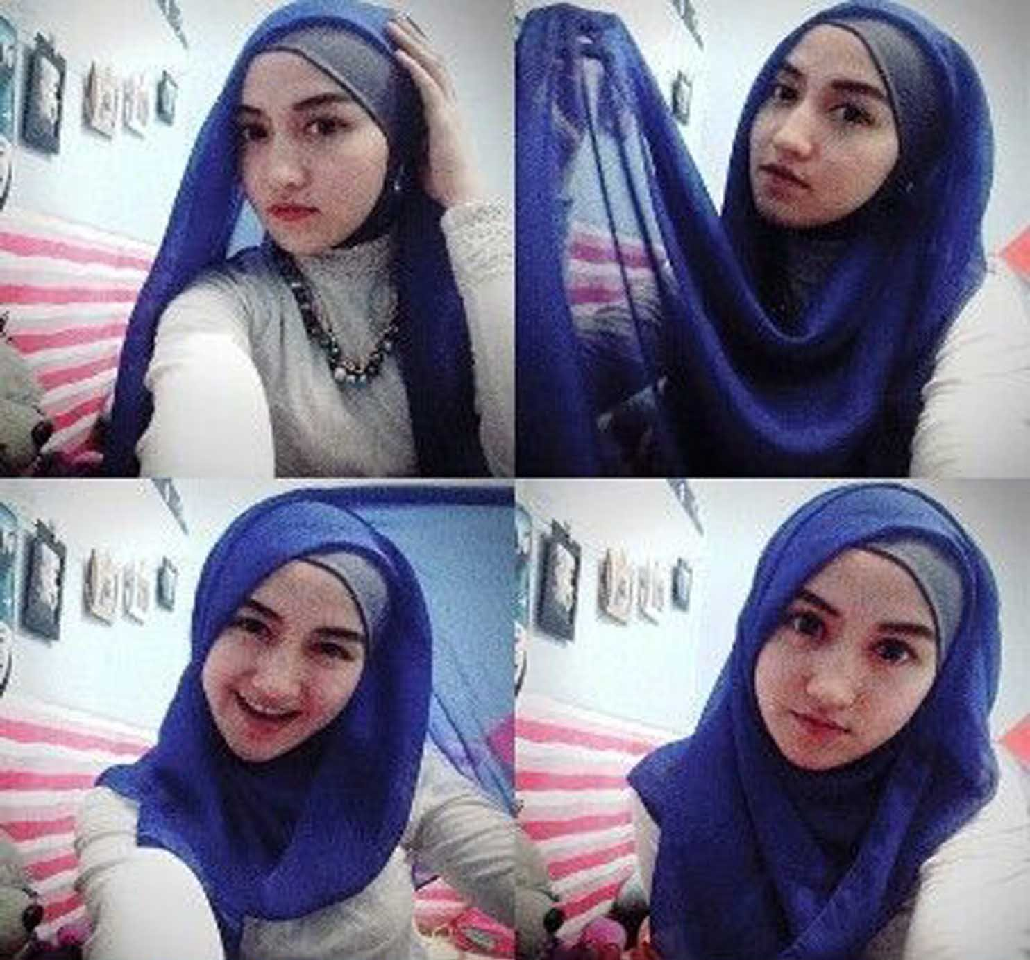 Tutorial Hijab Segi Empat Dengan Aksesoris Tutorial Hijab Paling