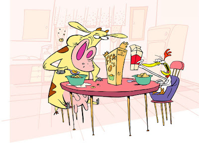 Cow and Chicken HD Wallpapers
