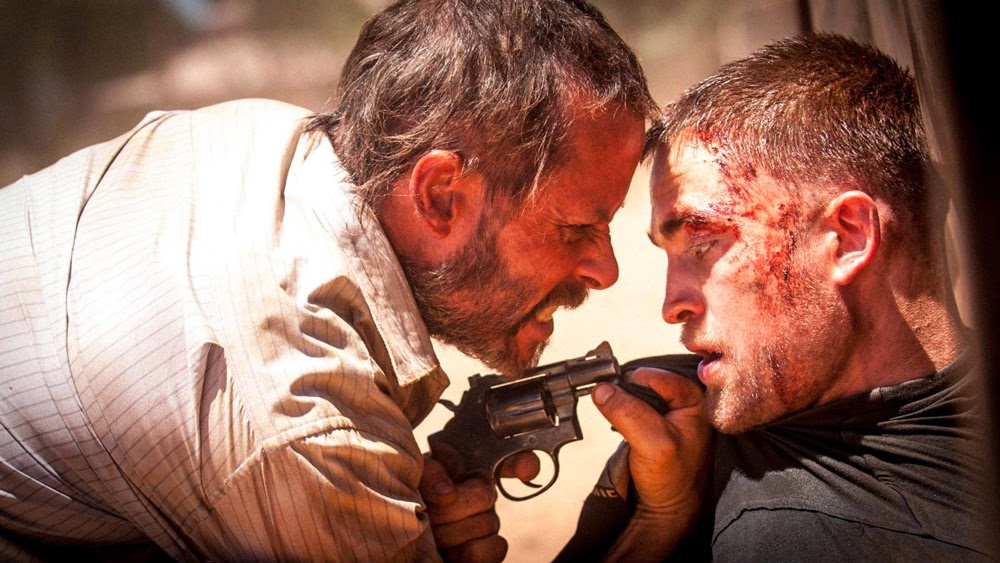 Guy Pearce and Robert Pattinson in The Rover