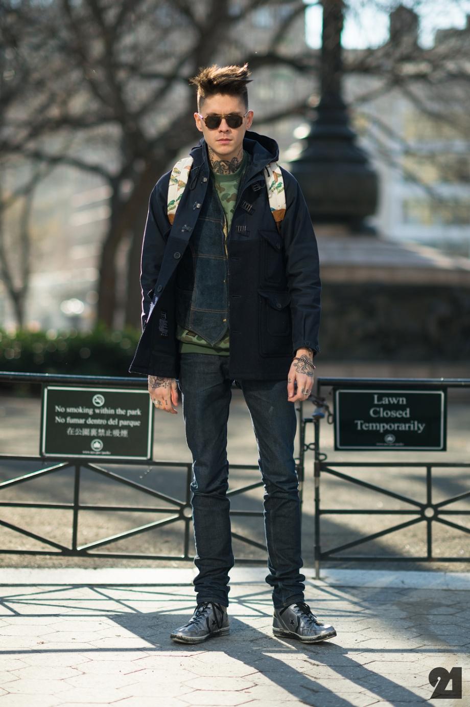 Men Street Fashion 2015: TREND SPOT: FACHO LOOK