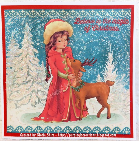 Featured Card at Holly Jolly Christmas Challenge