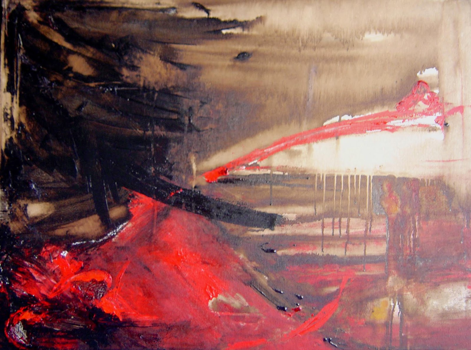 Pinturas abstractas de vanina martinez rojas - Ver colores de pinturas ...