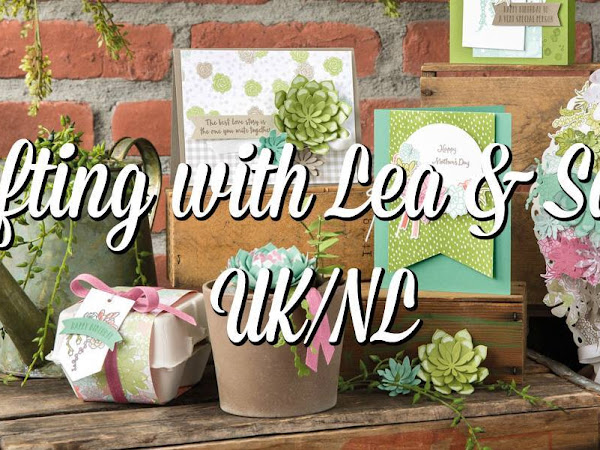 Crafting With Lea & Sacha (UK/NL) - Come and join the fun!