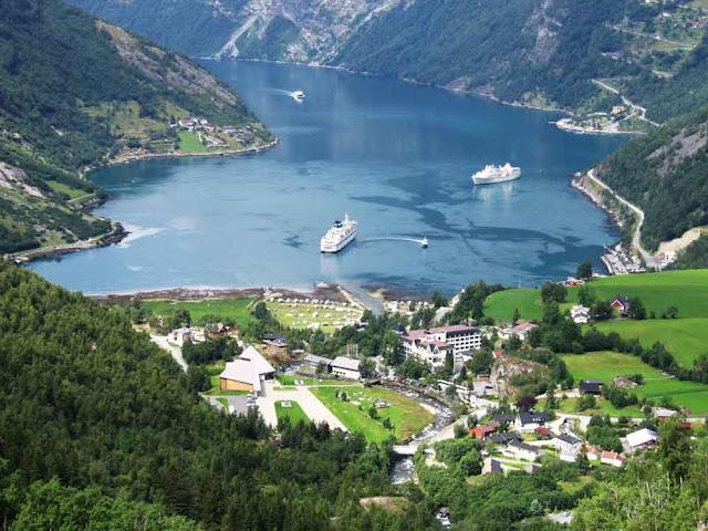 Fiorde de Geiranger – Noruega