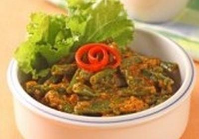 resep sayur kacang panjang bumbu kuning