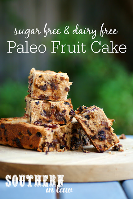... and Gluten Free Lifestyle Blog: Recipe: Paleo Fruit Cake (Sugar Free