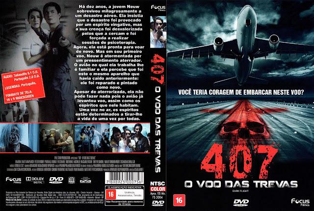 Capa DVD 407 O VÔO DAS TREVAS
