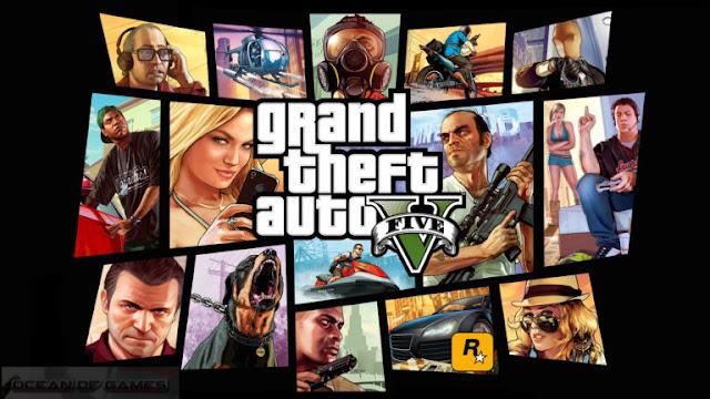 تحميل لعبة  GTA V Update Unlimited Money برابط واحد مباشر.