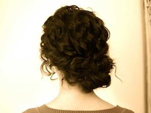 Bun Hairstyles For Curly Hair : 46 bun hairstyles for curly hair hairstylo