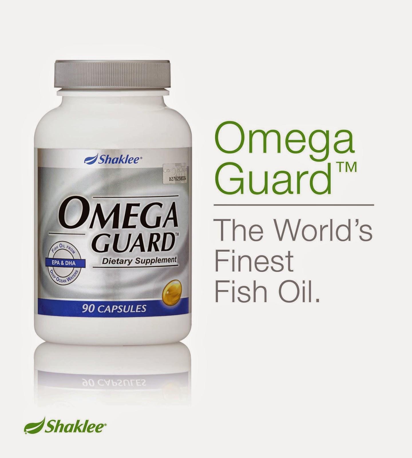 Omega Guard sumber minyak ikan tulen terbaik di dunia