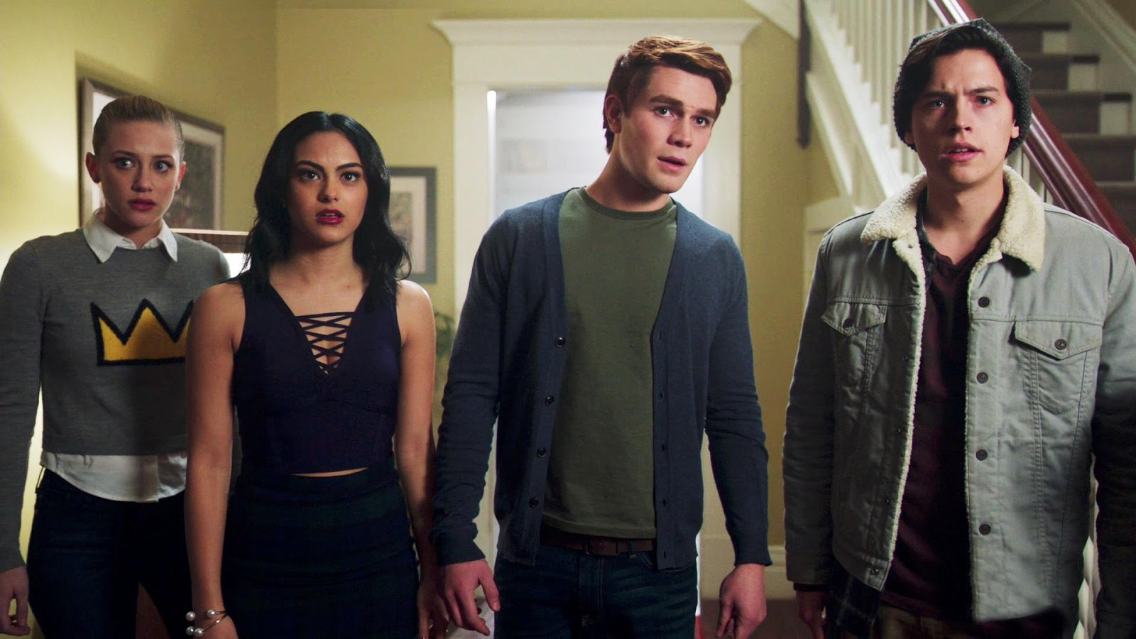 Grupo de amigos da série Riverdale
