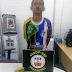 Rapaz é preso com munições restritas das Forças Armadas