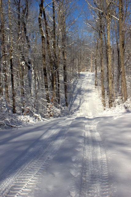 Cumberland Plateau snow