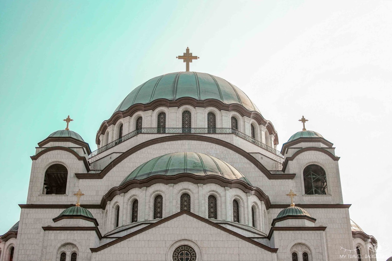 My Travel Background : 1 jour pour visiter Belgrade, la capitale de la Serbie - Cathédrale Saint-Sava