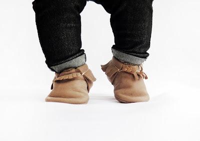 נעלי מוקסינים לתינוק
