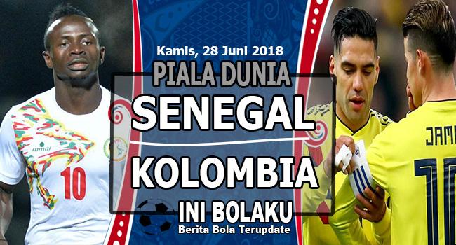 Prediksi Senegal vs Kolombia, Kamis 28 Juni 2018