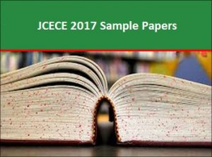 JCECE Sample Papers 2017