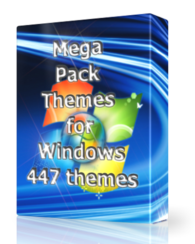 Windows 7 Mega Pack Themes 447  Free download full version