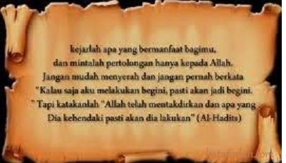 Kata Kata Mutiara Islami Terbaru