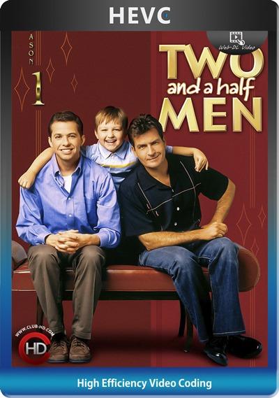 Two and half men (2003) S01 1080p AMZN WEB-DL Dual Latino-Inglés [HEVC-10bit] [Subt. Esp] (Serie De TV. Comedia)