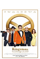 Kingsman: El círculo de oro (2017) BRRip 720p Latino AC3 5.1 / Español Castellano AC3 5.1 / ingles AC3 5.1 BDRip m720p