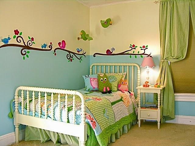 Dormitorios tema b hos dormitorios colores y estilos for Dormitorio infantil bosque