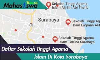 sekolah tinggi agama islam di kota surabaya