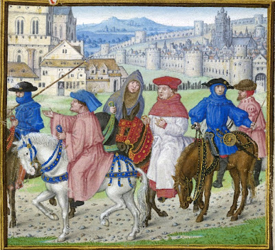 Contemporary picture of canterbury tales