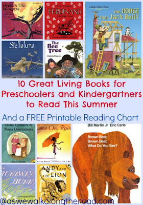 Preschool summer reading list