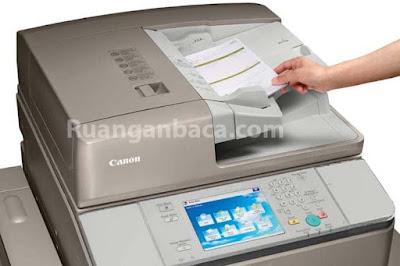 Solusi Error 840-001 Mesin Fotocopy canon IRA 6255