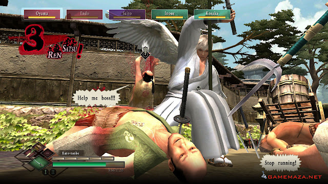 Way of the Samurai 3 Gameplay Screenshot 2