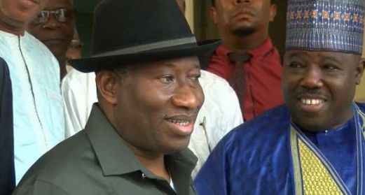 Sheriff Meets Goodluck Jonathan on Way Forward for PDP