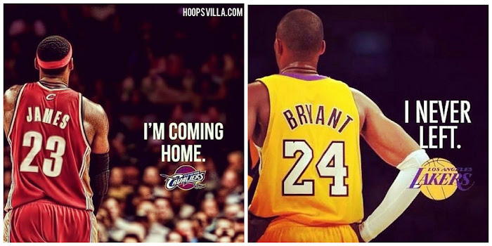 kobe bryant i never left james coming home loyality meme hoopsvilla