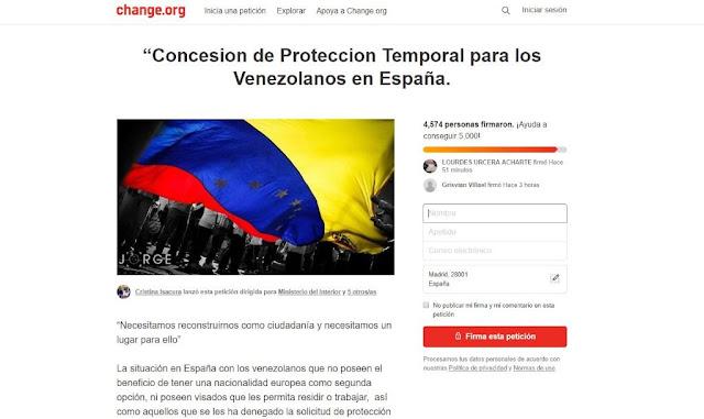Por qué el éxodo venezolano prefiere la figura del asilo en España