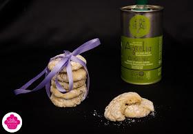 Cookies au citron, pépites de chocolat et huile d'olive